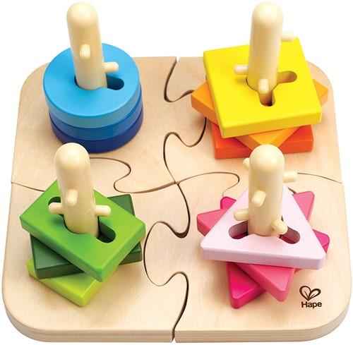 Hape Creatieve pin puzzel