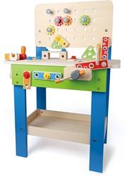 Hape houten constructie speelgoed Master Workbench