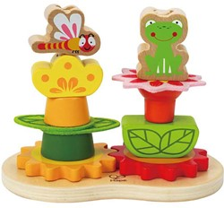 Hape stapelspel Garden Stacker