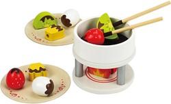 Hape houten keuken accessoires Chocolate Fondue