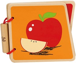 Hape babyboek Baby Book, Fruit