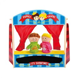 Hape poppenkast Puppet Playhouse