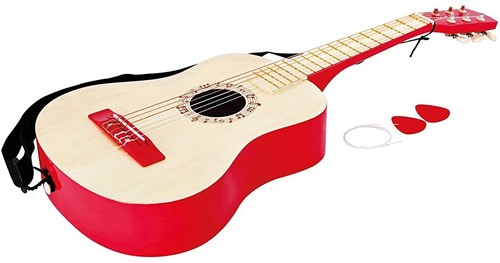 Hape Vibrant Red Guitar