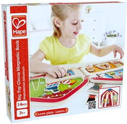Hape magneetspel Big Top Circus Magnetic Book