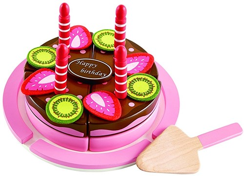 Hape Aardbei-chocolade taart