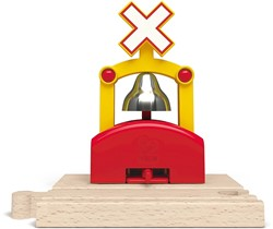 Hape houten trein Automatic Train Bell Signal