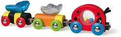 Hape houten trein Lucky Ladybug and Friends Train
