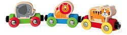 Hape houten trein Jungle Journey Train