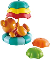 Hape Badspeelgoed Teddy's Umbrella Stackers