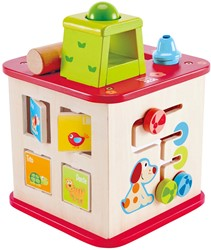 Hape leerspel Friendship Activity Cube