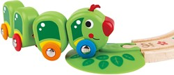 Hape houten trein set Caterpillar Train Set