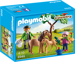 Playmobil Country - Dierenarts met pony's  6949