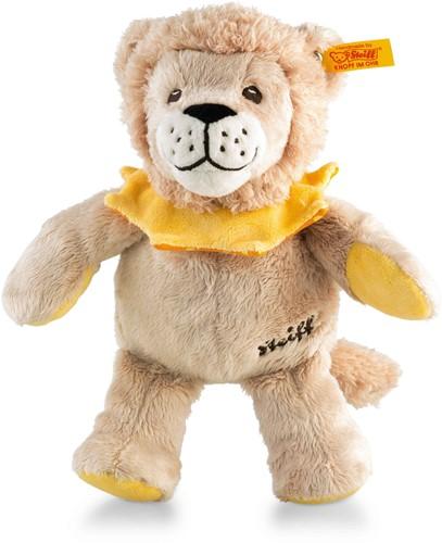 Steiff Leon lion, beige/yellow/orange
