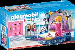 Playmobil Family Fun - Podium met artiste  6983
