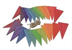 Grimm's houten vlaggetjeslijn