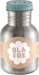 Blafre drinkfles staal blauw 300ml