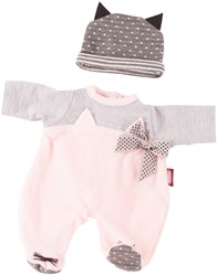 Götz accessoires Combination baby dolls, cosy cat, 2-pcs.