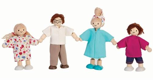 Plan Toys poppenhuis moderne familie
