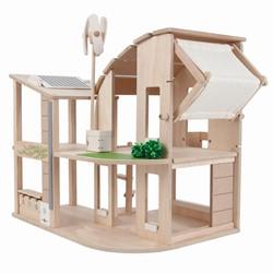 Plan Toys houten poppenhuis Duurzaam