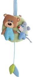 Haba  box en maxi cosi speelgoed Muziekdoos knuffelvrienden blauw 7167