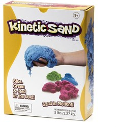 Relevant Play boetseerset KineticSand Groen, Rood, Blauw
