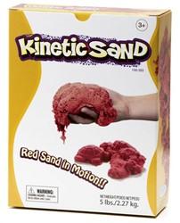 Waba Fun  boetseerset Kinetic sand Rood 2,2 kilo
