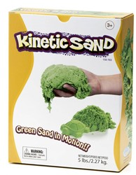 Relevant Play boetseerset Kinetic sand Groen 2,2 kilo