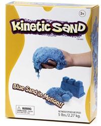 Waba Fun  boetseerset Kinetic sand Blauw 2,2 kilo