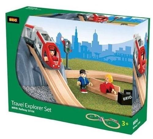 Brio  houten trein set Travel Explore set 33106-2