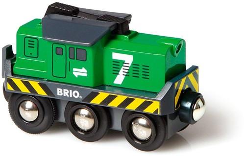 BRIO Locomotief voor goederentrein op batterijen - 33214