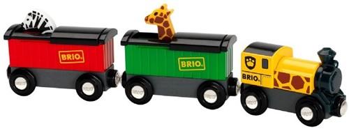 BRIO Trein met safari dieren - 33722