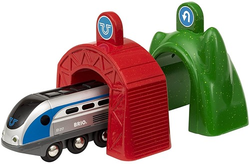 BRIO Smart locomotief met actietunnels - 33834