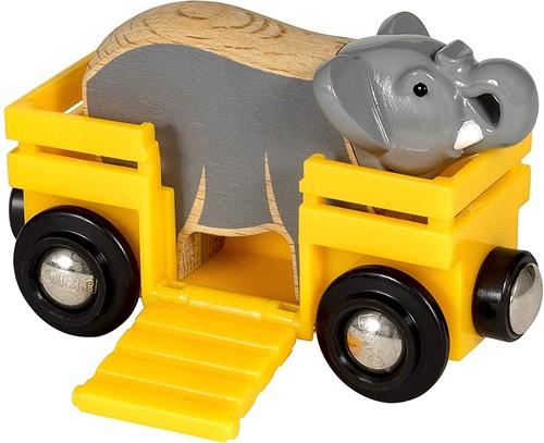 BRIO Wagon met olifant - 33969