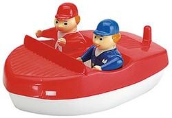 Aquaplay  Aquaplay Waterspeelgoed - Badspeelgoed - Motorboot 2 figuren