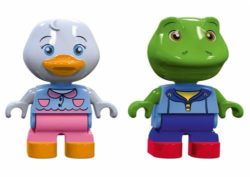 Aquaplay speelfiguren Eend en Kikker 235