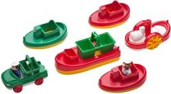 Aquaplay waterspeelgoed boot pakket 6 stuks