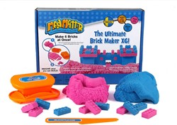 Relevant play boetseerset Ultimate Brick Maker X6 Roze & Blauw