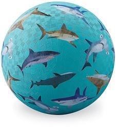 Crocodile Creek speelbal haaien - 18 cm