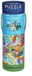 Crocodile Creek poster & puzzel Europa