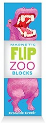 Crocodile Creek blokpuzzel Magnetic Blocks/World Animals
