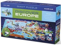 Crocodile Creek ontdekpuzzel Europa