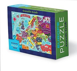 Crocodile Creek  legpuzzel Matchbox Puzzle/Europe - 100 stukjes