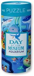 Crocodile Creek dag in het museum puzzel Aquarium - 72 stukjes