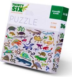 Crocodile Creek puzzel Reptielen en amfibieën - 300 stukjes