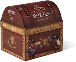 Crocodile Creek dubbele puzzel Piraten schat