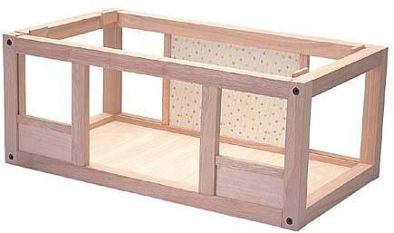 """Plan Toys houten kelder voor """"mijn eerste poppenhuis"""""""