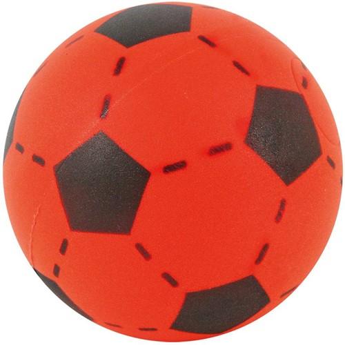 Planet Happy  buitenspeelgoed foam voetbal rood 20 cm