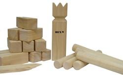 Bex houten buitenspel Kubb - Rubberhout