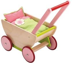 Haba  houten poppen meubel Selection - poppenwagen kersen