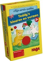 Haba  kinderspel Mijn eerste spellen - Teddy's kleuren en vormen 5976